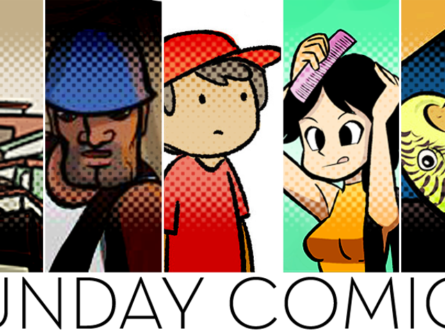 Sunday Comics: Finished A Book Today...