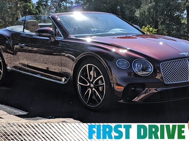 Why Bentley GT Continental Convertible Is A Default Daily Driver For The Fabulous