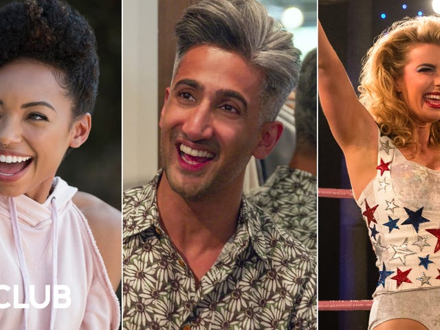 The stars of Dear White People,Queer Eye,andGLOWmake plans to cross over with each other's shows