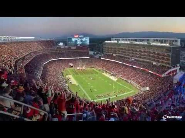Watch the High-Tech Levi's Stadium Being Built In a Dazzling Timelapse