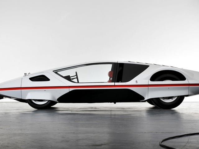 This Ferrari 512S-based Pininfarina Modulo Concept Runs And Drives For The First Time Ever