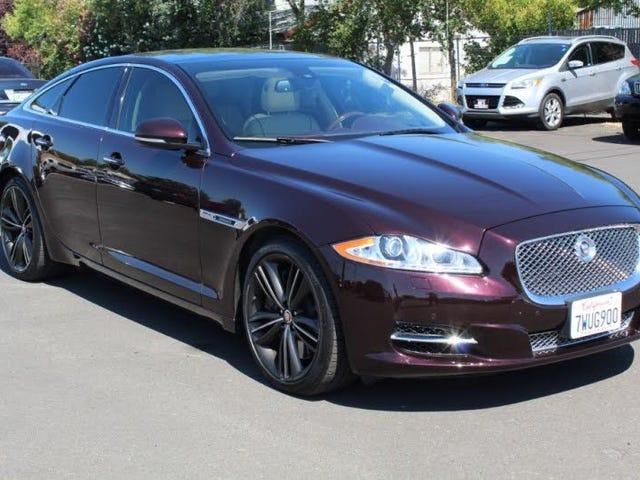La Jaguar XJ Supersports coûte moins de 25 000 $