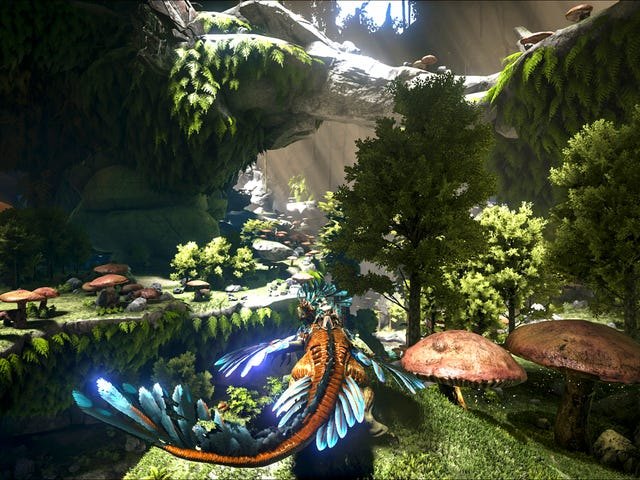 Ark Is Going Full-On Sci-fi In Aberration, Its Next Major Expansion [UPDATE]