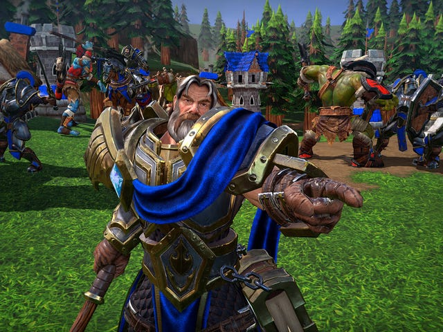 Blizzard διαθέτει το Custom Warcraft 3: Ανανεωμένα παιχνίδια