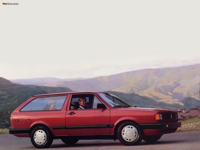 1987 VW Fox Wagon là ngân sách bắn súng phanh của những giấc mơ của chúng tôi