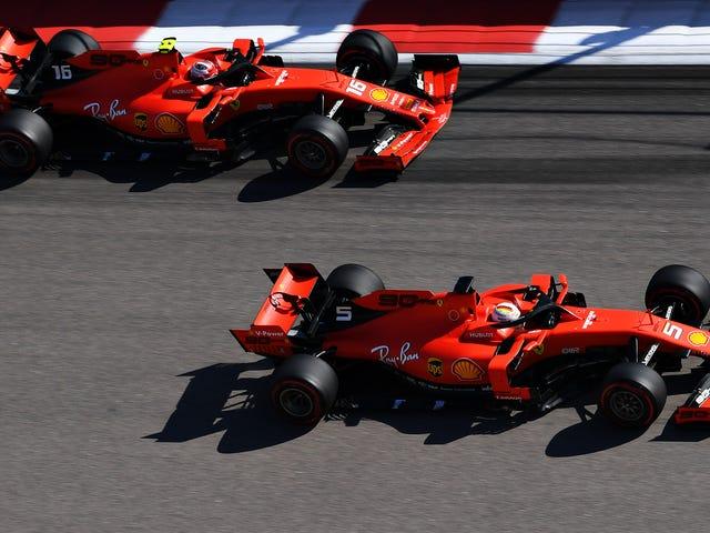 "Sebastian Vettel tager ""Bede om tilgivelse ikke tilladelse"" -tilgang til russiske Grand Prix-holdbestillinger"