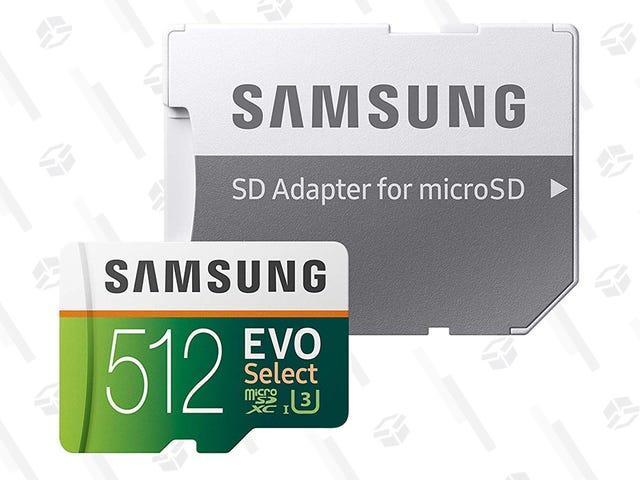 现在再没有比现在更好的时间来拿起三星的MicroSD卡了