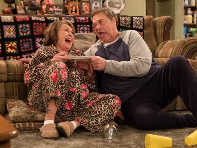 The Roseanne-freeRoseanne revival creeps a little closer to existence