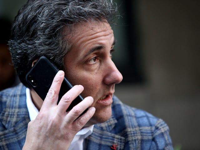 माइकल कोहेन के सेलफोन के साथ एक विशेष साक्षात्कार जो स्पष्ट रूप से उसके बिना प्राग चला गया