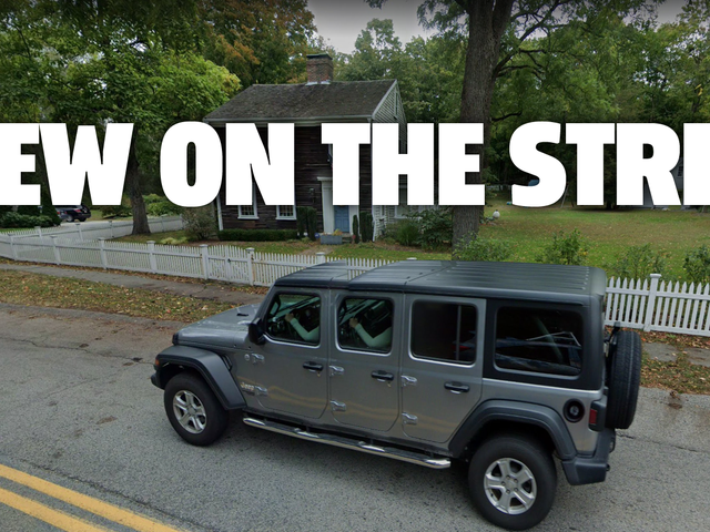 Google Street View AI opracowuje Six-Door Jeep Wrangler