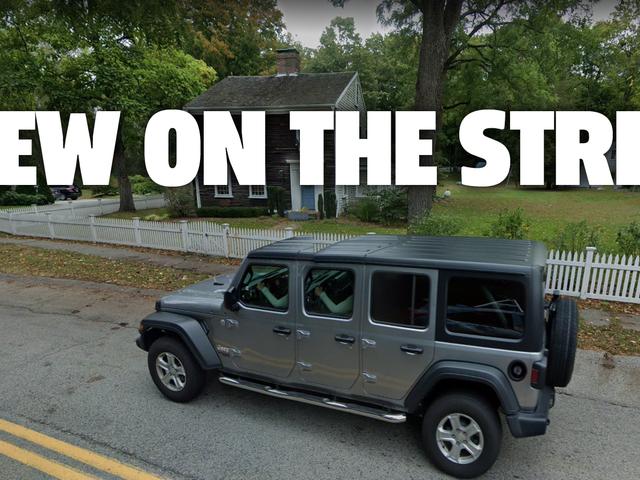 Google Street View AI Membangun Jeep Wrangler Enam-Pintu
