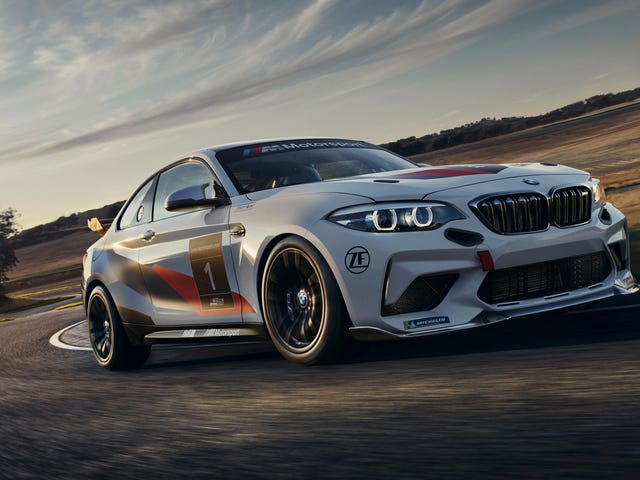 The BMW M2 CS Racing Will Put You In The Hot Seat For Relatively Cheap