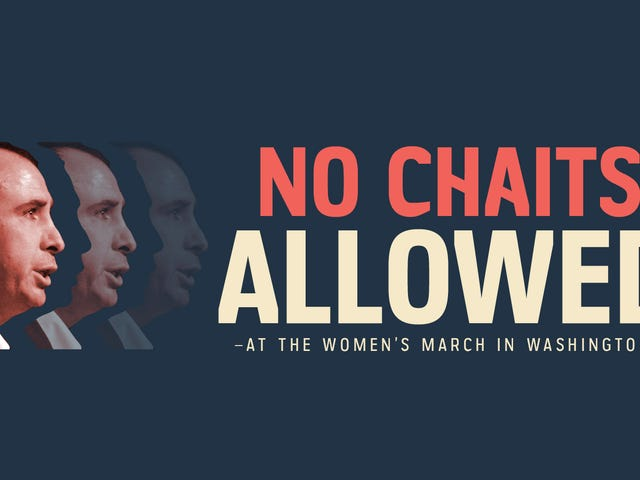 Did You Hear? The Women's March on Washington Is for Everyone But Jonathan Chait