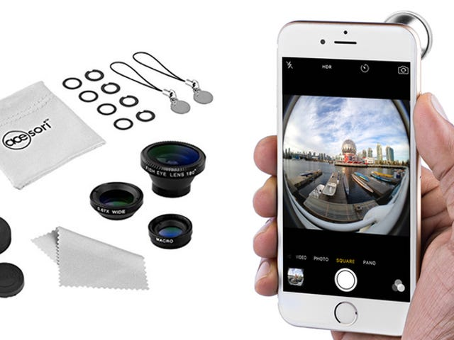 This 5 Piece Smartphone Camera Lens Kit Is Only $10
