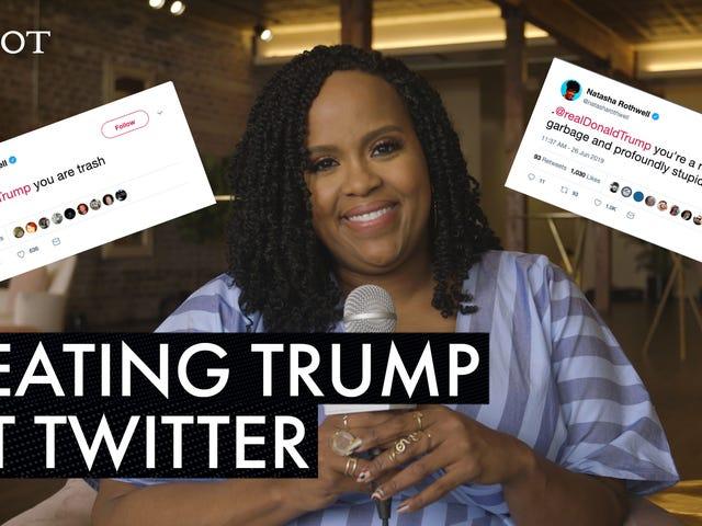 Natasha Rothwells tweets til Donald Trump er smålige og perfekte
