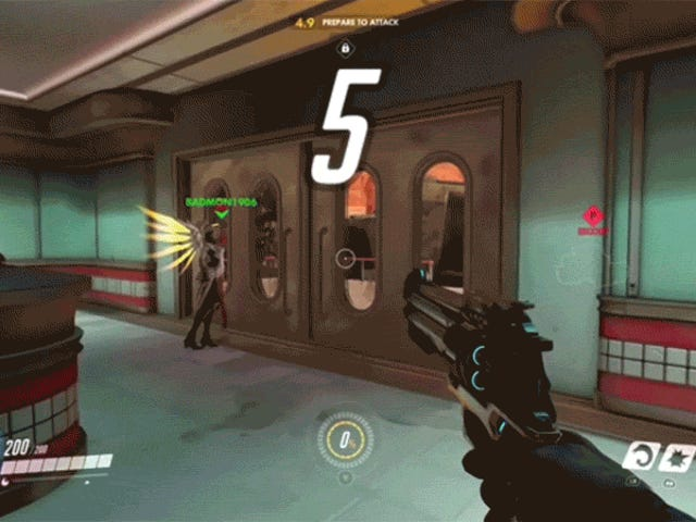When An Entrance In Overwatch Goes Wrong