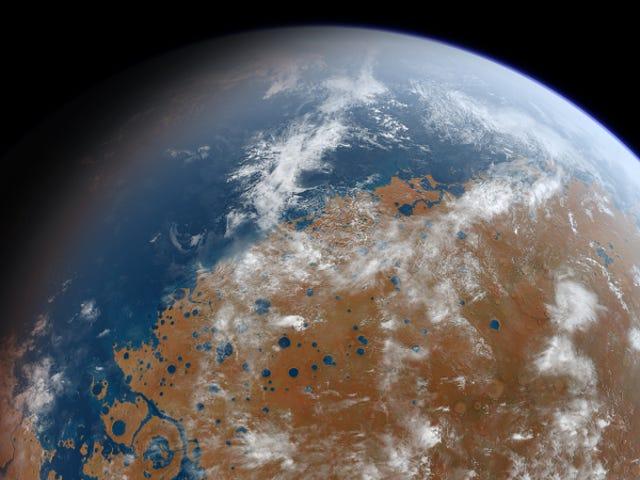 Der alte Mars war noch mehr Erde-wie wir uns vorgestellt