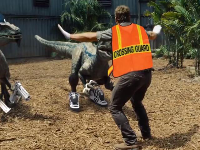 Jurassic World blev lige underlig / Awesome
