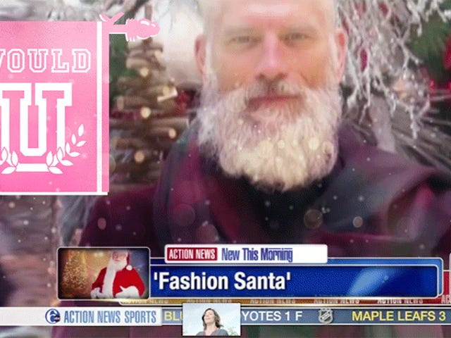 Would You Have Sex With This Chic Fashion Santa?
