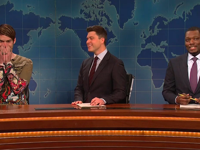 Bill Hader brings Stefon back to Saturday Night Live, even without husband Seth Meyers