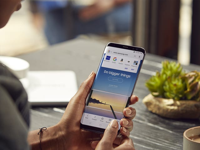 Samsung's Android Browser Offers a Big Privacy Perk Over Chrome