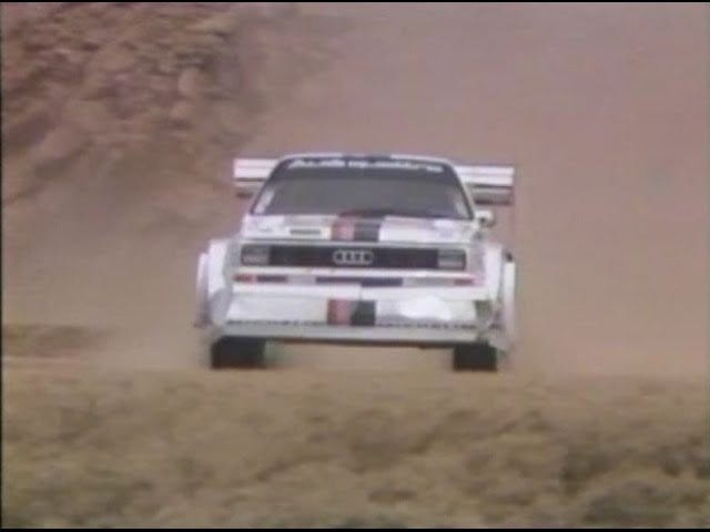 Walter Röhrl takes on Pikes Peak (circa 1987)