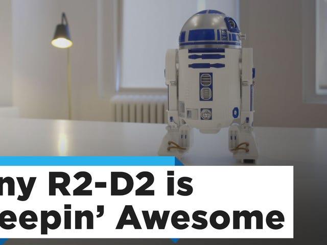 只需65美元,欢迎Sphero的神奇R2-D2到您的办公桌