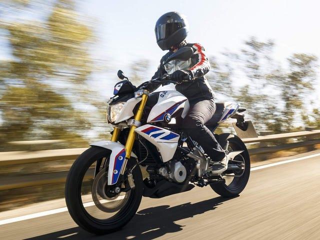 BMW podría tener una moto deportiva de 310 cc totalmente cargada en el camino