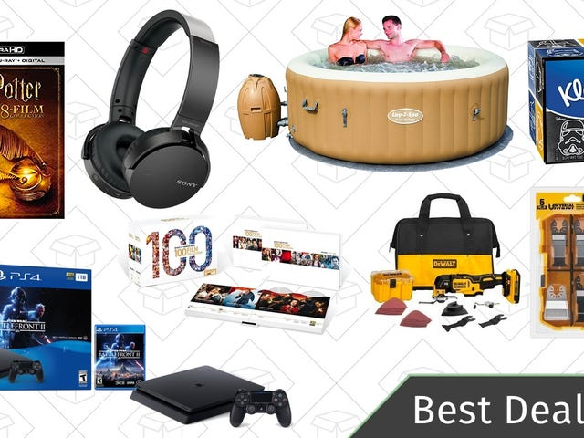 Friday's Best Deals: Dewalt Multi-Tool, PS4 Star Wars Bundle, VPN Subscription, and More