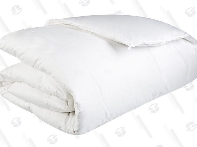 Sleep Under This Lightweight Down Comforter For $15 Less Today