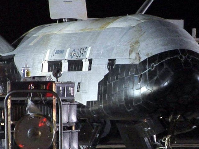 Top-Secret Space Plane Lands After Almost 2 Years In Orbit