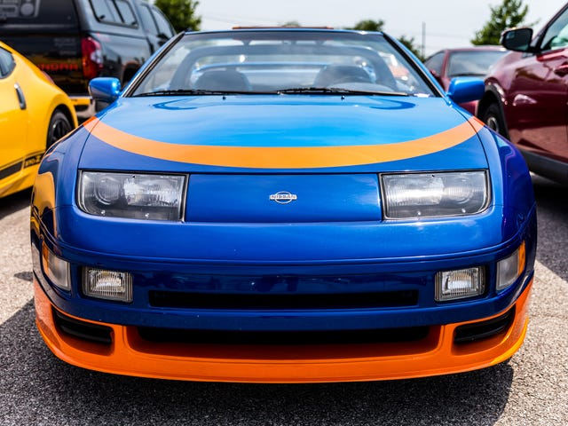 The Nissan Z32 300ZX Happened Because Its Designer Broke The Rules