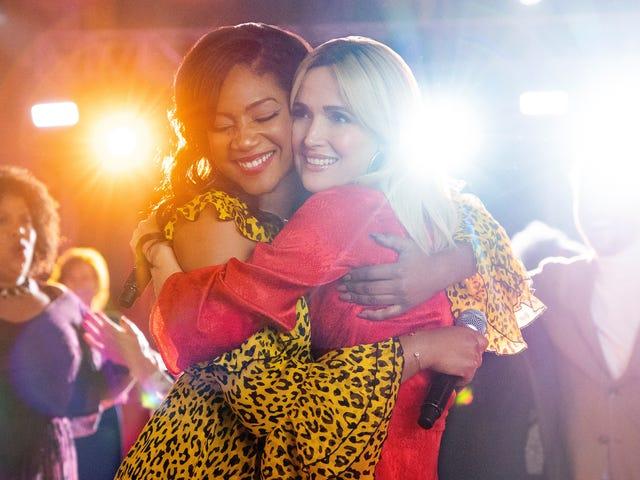 Tiffany Haddish og Rose Byrne er embattede BFF'er i den stive venskabskom som A Boss