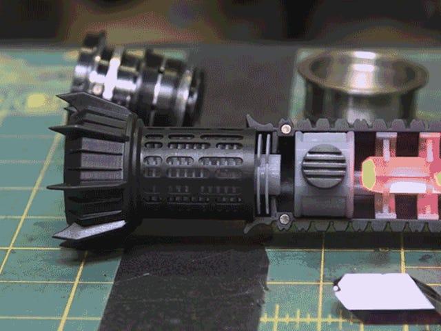 Dieses unglaublich detaillierte Lichtschwert ist der beste Grund, einen 3D-Drucker zu besitzen