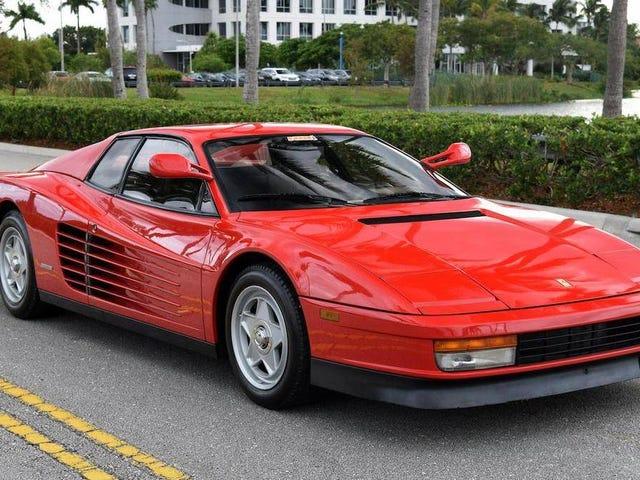 At $99,500, Is This 1986 Ferrari Testarossa a 'Grate' Deal?