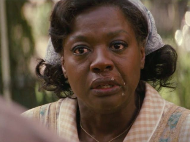 Real Talk, Viola Davis's Spontaneous Snot Bubble In Fences Should Have Won An Oscar Too