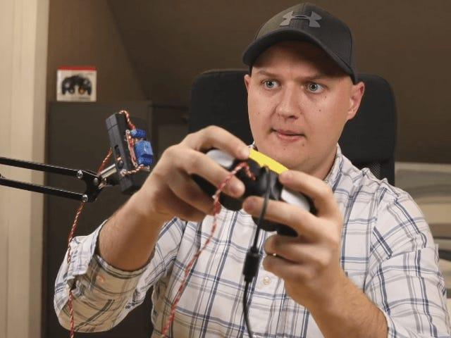 Jurutera Menggabungkan Smash Controller Dengan Taser Kerana Mengapa Tidak