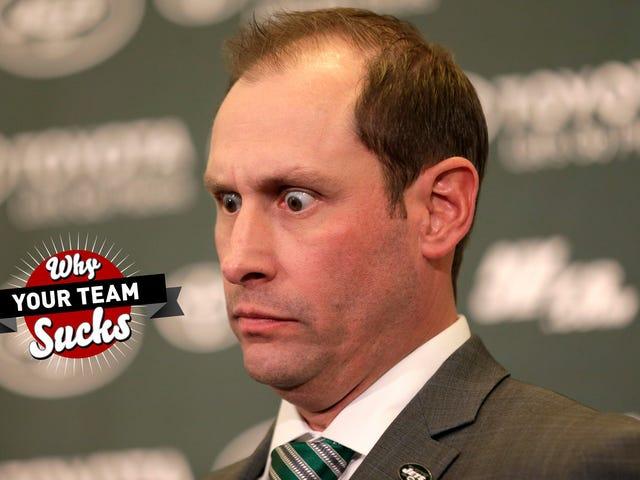 팀이 2019 년을 왜 짜증나게 하는가 : New York Jets