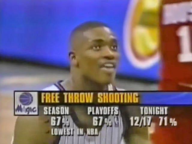 Vor 25 Jahren verpasste Nick Anderson in Spiel 1 des NBA-Finales 1995 vier aufeinanderfolgende Freiwürfe und veränderte die Liga für immer