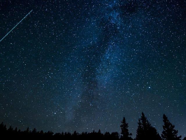วิธีดูฝนดาวตกทุกดวงในปี 2562