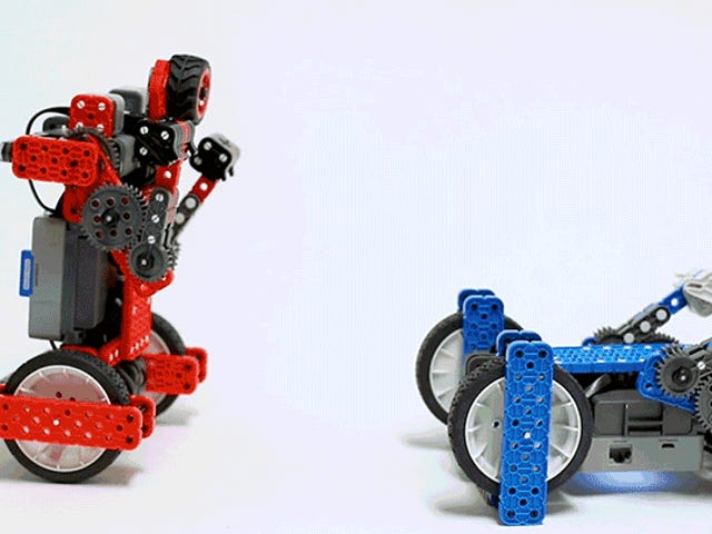 I Love Watching These Self-Balancing Boxing Robots Beat Each Other Into Submission