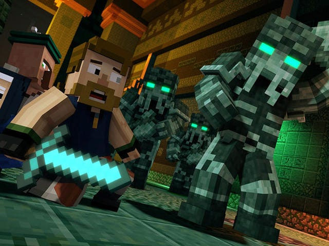 Telltale's Minecraft Currently Costs $700 On Xbox 360 (But You're Not Supposed To Buy It)