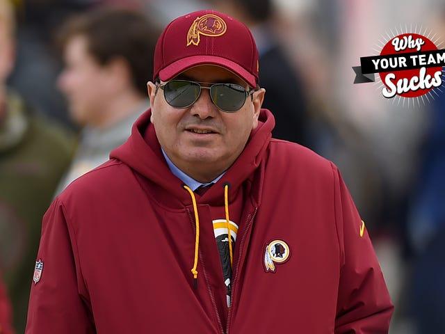 Pourquoi votre équipe craint 2019: Washington Redskins