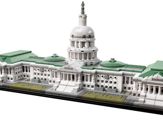 You Can Finally Build the US Capitol Out of Lego