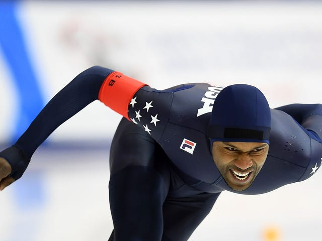 Speedskater Shani Davis Throws Shade at the Winter Olympics After Learning He Won't Be the Flag Bearer