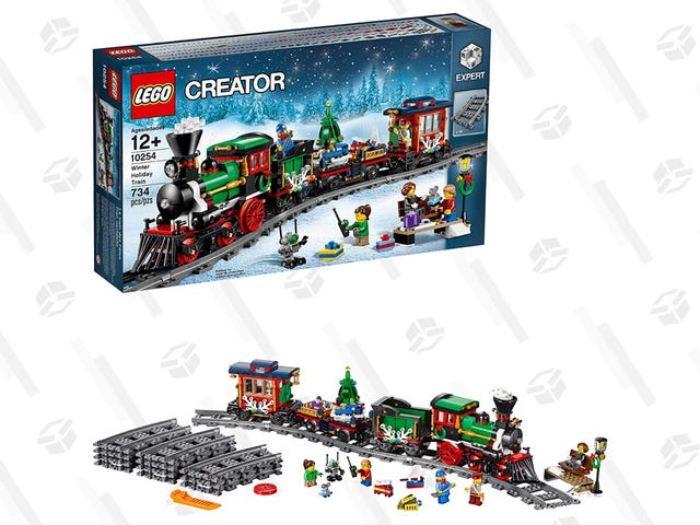 Get This LEGO Winter Holiday Train Set Before The Price Is Jacked Up For Christmas