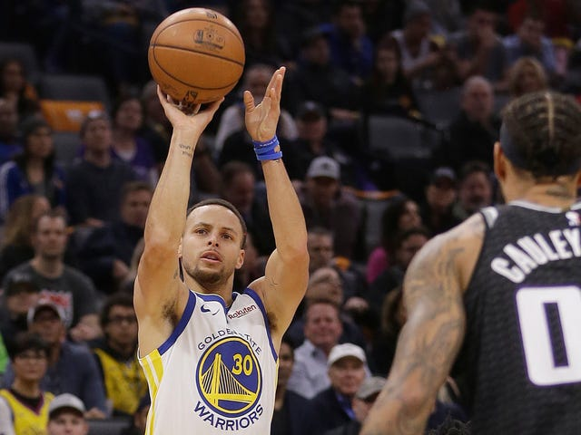 The Warriors And Kings Set A Whole Bunch Of Three-Point Records