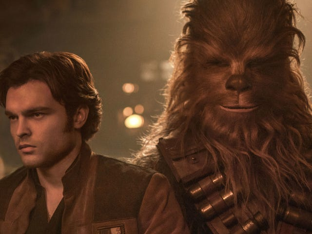 The Writers of Solo Discuss the Challenge of Creating Han and Chewie's Iconic First Meeting
