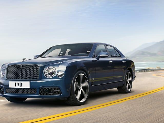 Bentley sier farvel til sin 60 år gamle 6,75-liters V8 med en spesiell utgave Mulsanne