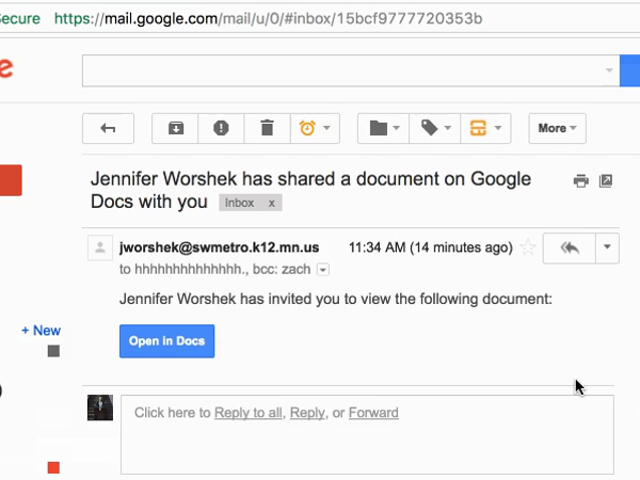 No abras ese documento de Google Docs que no esperabas: es un convincenteataque de <i>phishing</i>